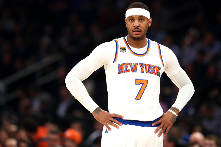 Carmelo should check out this history of tanking NYC teams