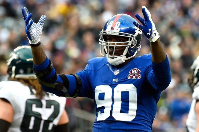 Jason Pierre-Paul , Giants agree to four year deal
