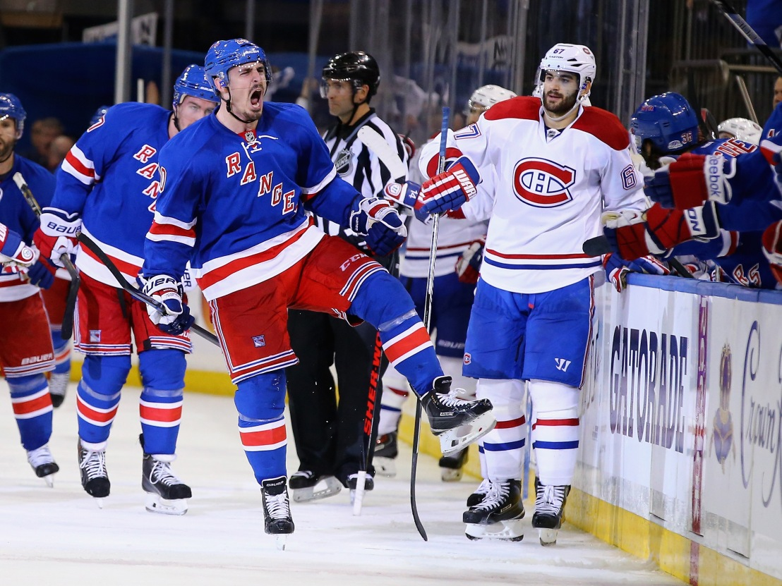 Montreal Canadiens v New York Rangers - Game Three