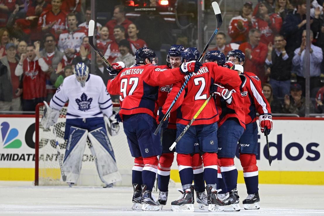 Toronto Maple Leafs v Washington Capitals