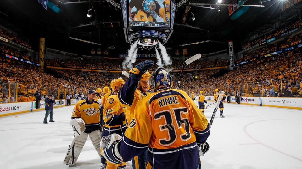 Predators Win and Advance to Western Conference Final
