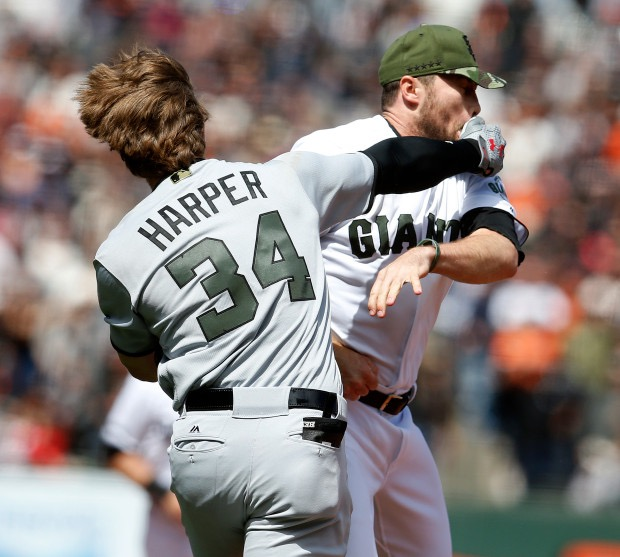 Breaking Down the Bryce Harper Fight.