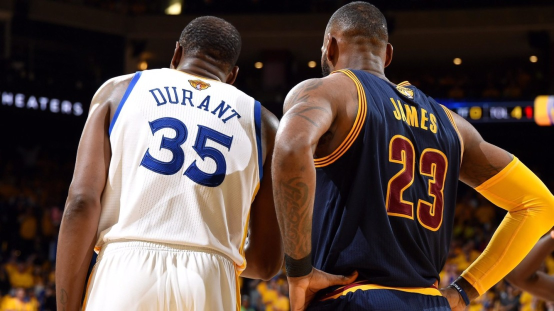 The Difference Between LeBron James and Kevin Durants path to aRing