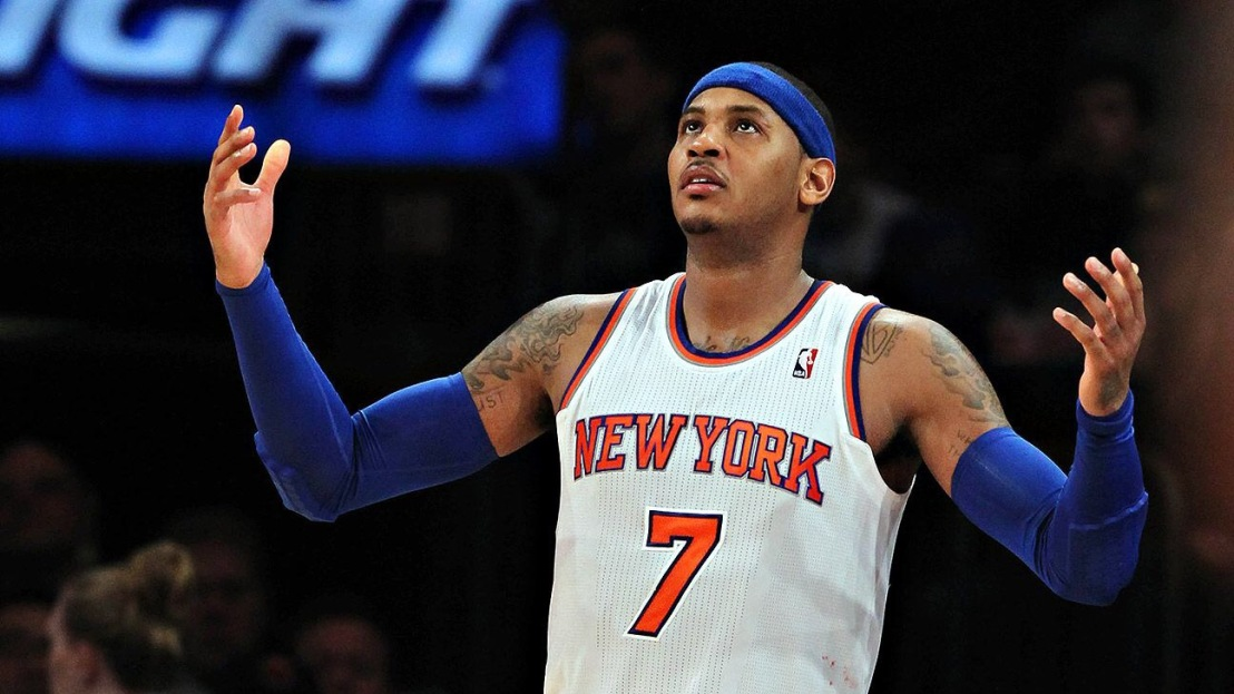 Carmelo Anthony and the Knicks engaging in buyout talks