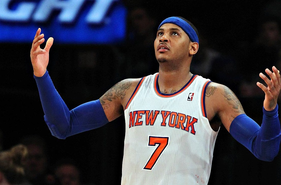 Carmelo Anthony and the Knicks engaging in buyout talks ...