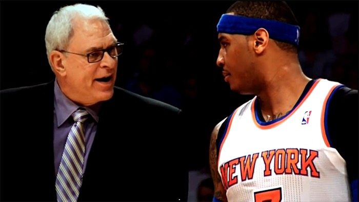 Phil Jackson fired; LaLa Anthony back in the fold; are the Knicks back?