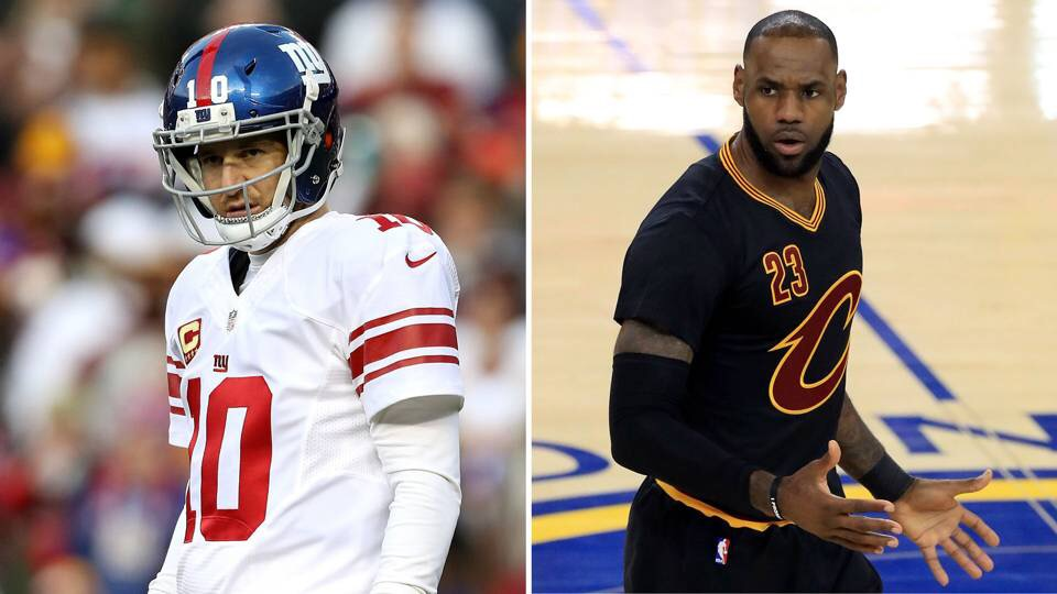 Damon Harrison compares Eli Manning to LeBron James; and he's right
