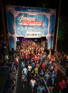 Avengers Super Heroes Half Marathon 2014 at Disneyland Resort