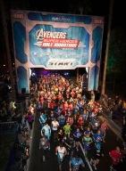 Avengers Super Heroes Half Marathon 2014 at Disneyland Resort