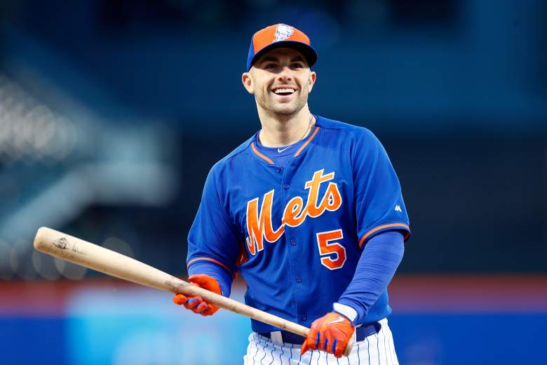 David Wright makes his return to the baseball field