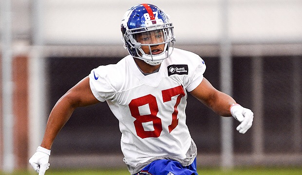 Sterling Shepard hurt in Training Camp