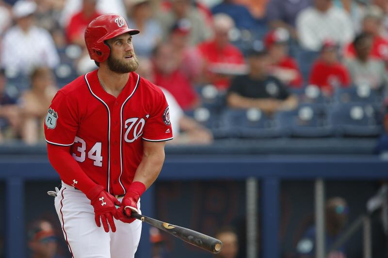 Bryce Harper injured