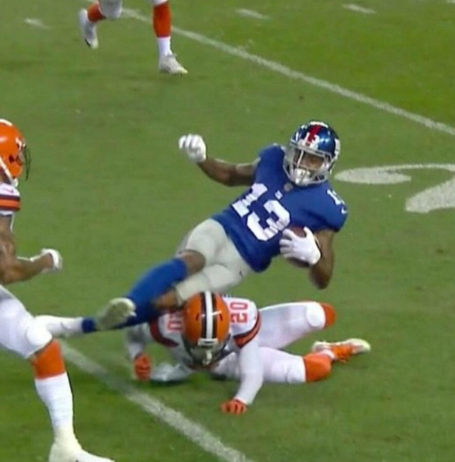 Are people really blaming Odell for beinghurt?