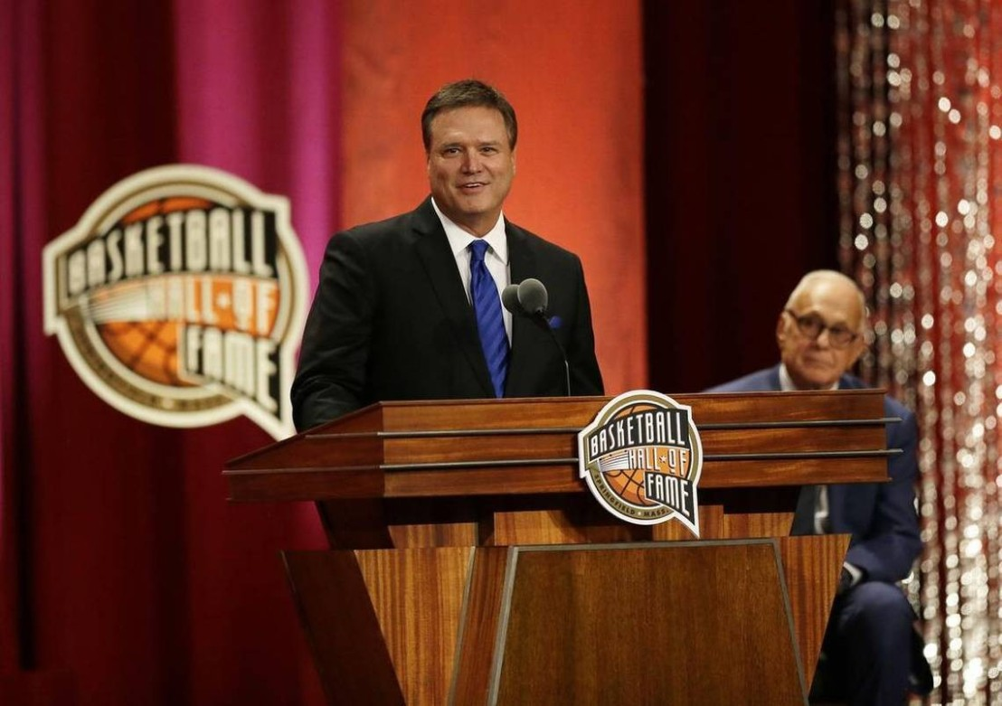 Bill Self inducted into Basketball Hall of Fame