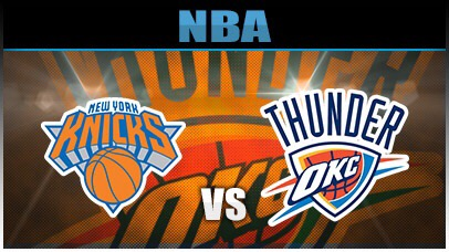 Knicks @ Thunder-  The Thunder will disappoint this year and tonight