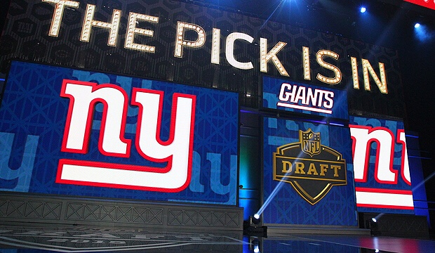 Giants Draft Stategy- Trading Back